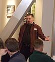 Russ Jackman presenting to the St. Thomas Executives Association