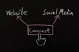 Have a clear web strategy that includes social media